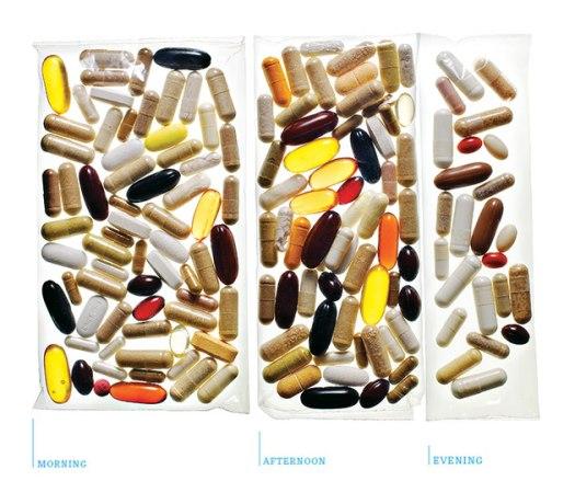 Pills that Ray Kurzweil takeseveryday